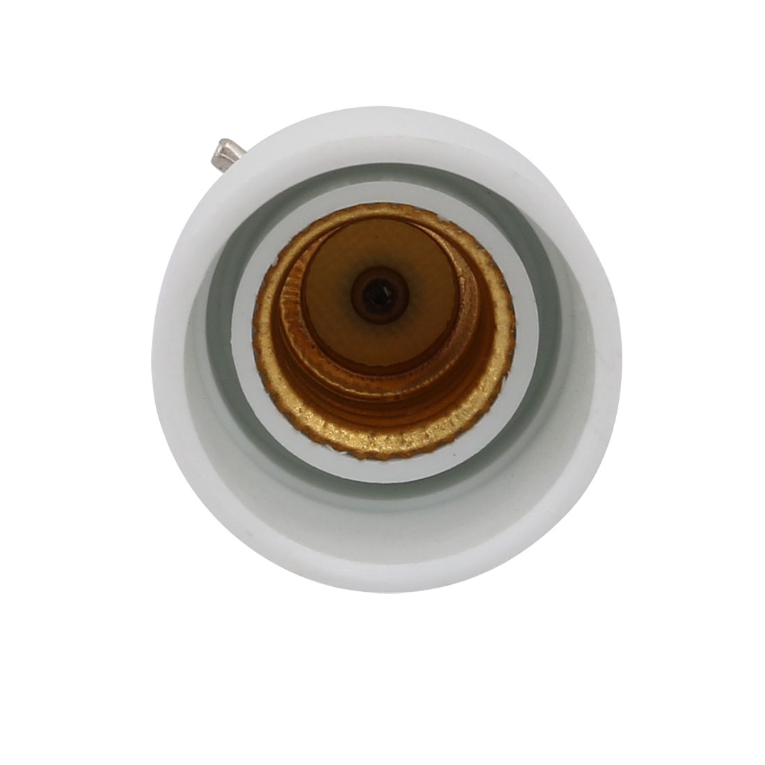 Unique Bargains 10pcs B22 to E14 Extender Adapter Converter Lamp Bulb Socket Holder White - image 1 de 2