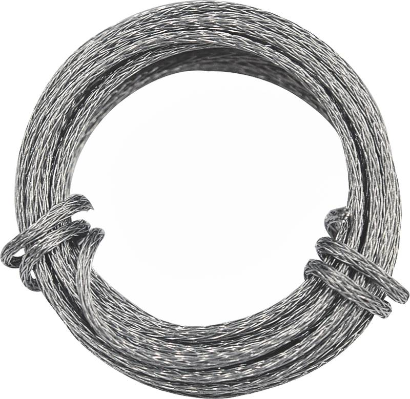 BRAIDED WIRE GALV 9' 30LB