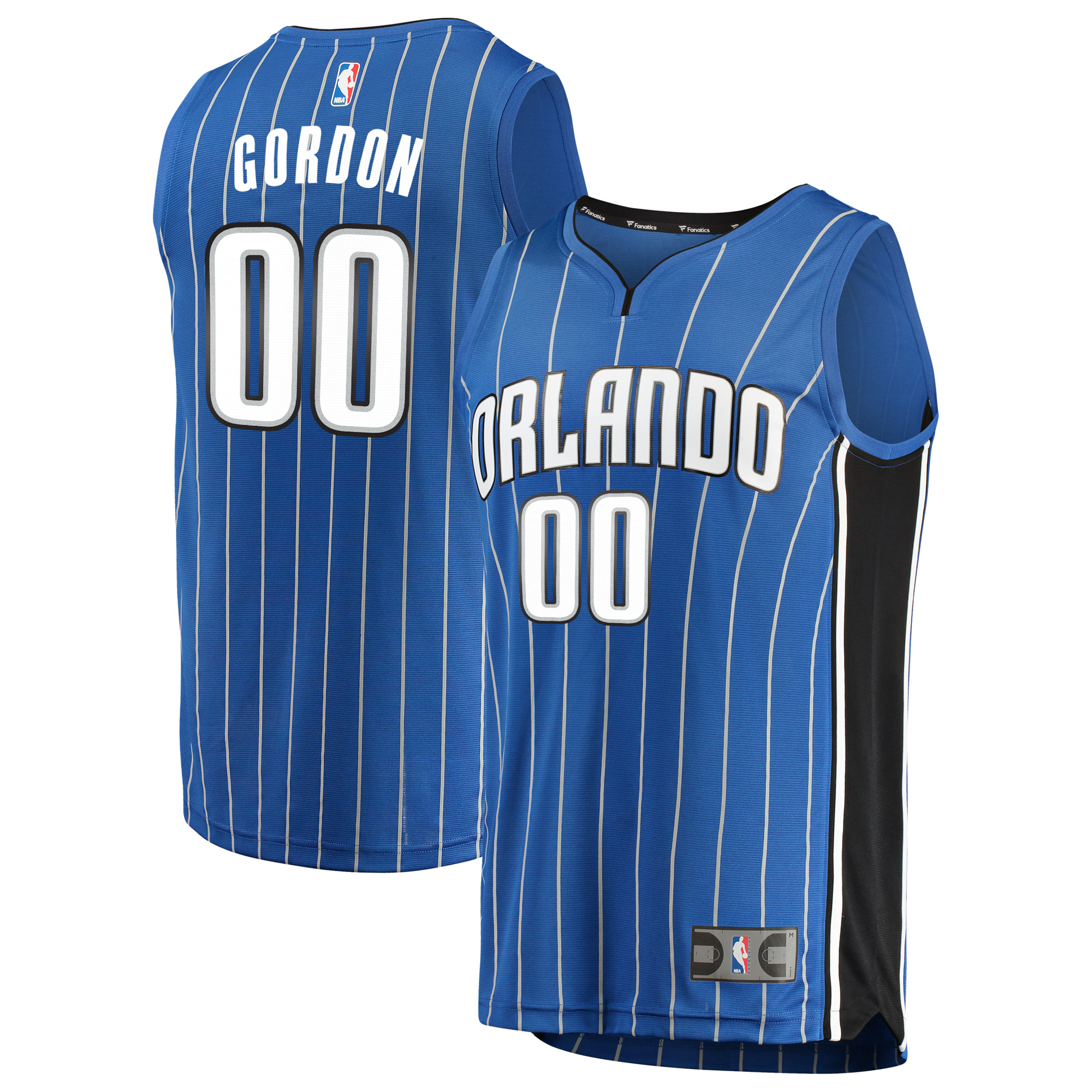 Aaron Gordon Orlando Magic Fanatics Branded Fast Break Replica Jersey Blue - Icon Edition - 2XL
