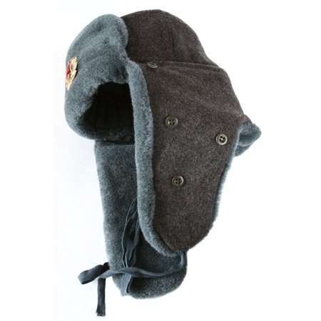 Arctic Circle Russian Army Ushanka Winter Hat Soviet Soldier - Walmart.com 058492c2018