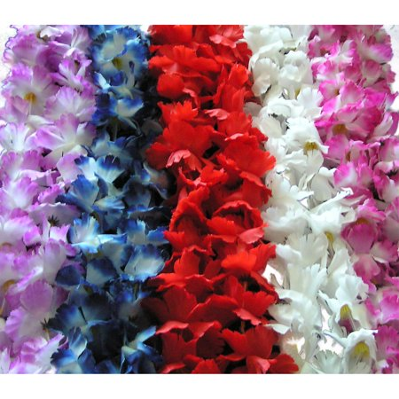 Luau Party Bright Colored Bulk Pack 42