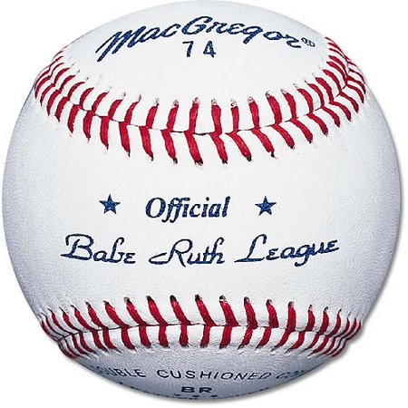 MacGregor #74 Official Babe Ruth Baseball