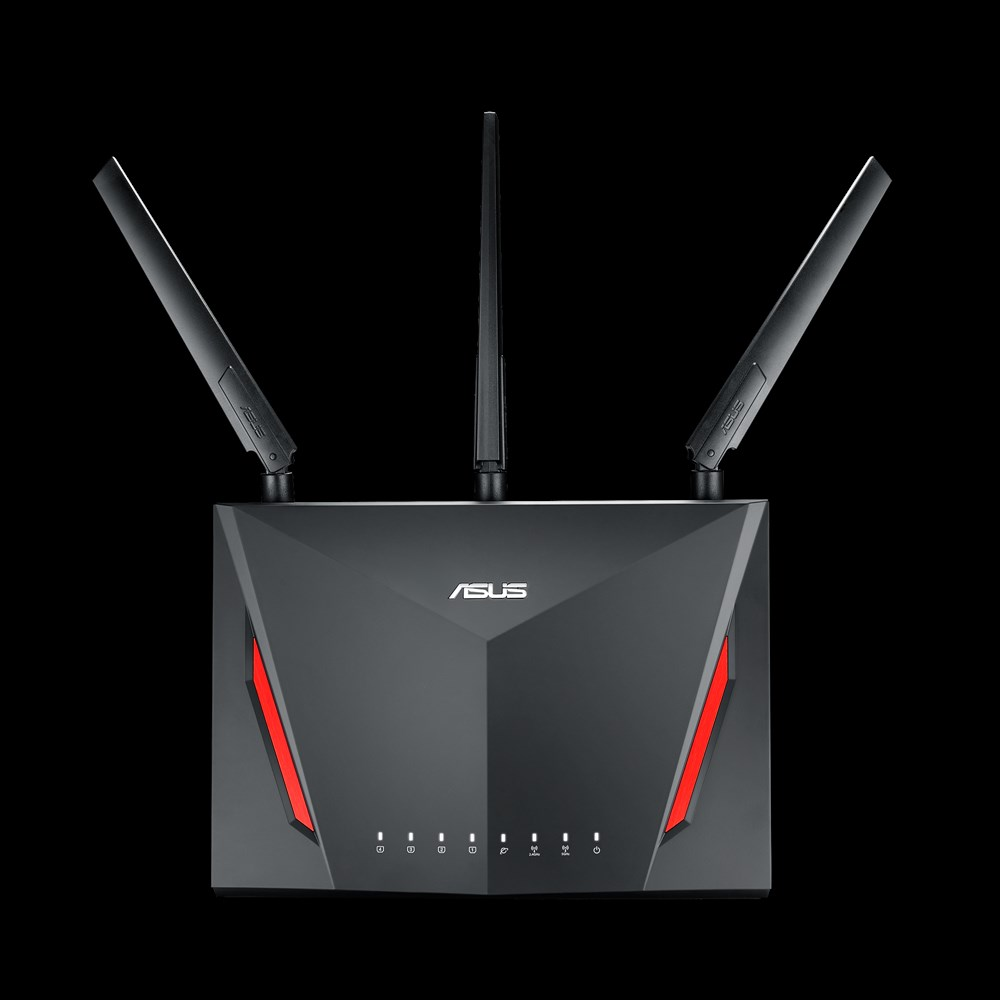 Asus Ac2900 Dual-Band Wrls Router with 4-Port Gigabit Lan by ASUS