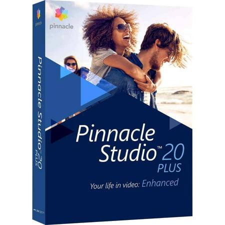 Pinnacle Studio 20 Plus Video Editing and Live Screen Capture