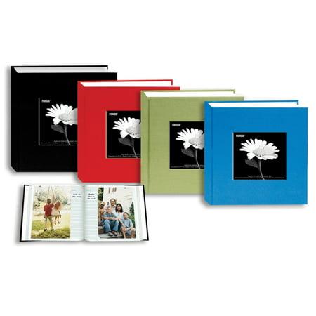 Cloth Photo Album - pioneer photo albums da100cbf cloth frame photo album assorted colors