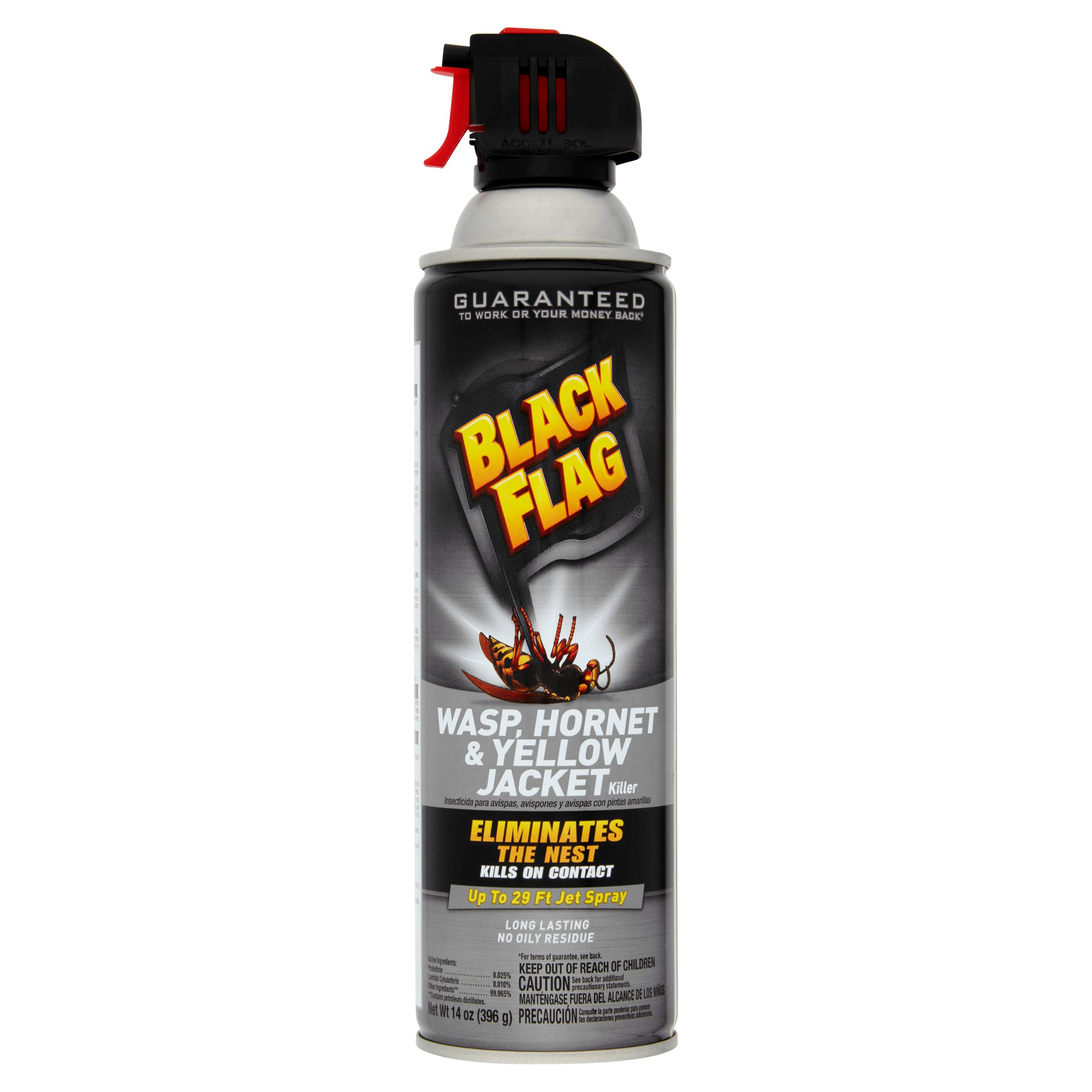Black Flag Wasp, Hornet & Yellow Jacket Killer, 14 oz