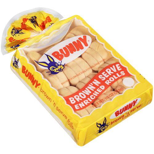 Bunny Brown 'n Serve Rolls, 12 ct, 10 oz