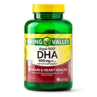 Spring Valley Algal-900 DHA Softgels, 900mg, 90 Count
