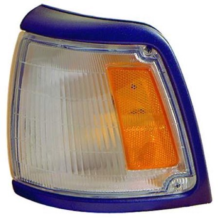 Go-Parts OE Replacement for 1992 - 1995 Toyota Pickup Parking Light Assembly / Lens Cover - Left (Driver) Side - (DLX RWD + SR5 RWD) 81620-35090 TO2520126 Replacement For Toyota Pickup 4wd 1992 Toyota Pickup