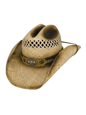 Bullhide Hats 2645 Shut Up And Ride Extra Large Natural Cowboy Hat