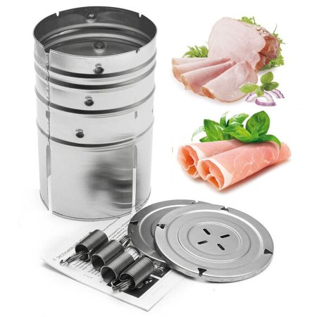 - Homemade Stainless Steel Ham Patty Press Maker Specialties Meat Poultry Seafood