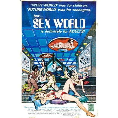 Sex World Movie Poster 24X36