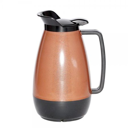 - Service Ideas Thermo-Serv 1 liter Copper / Black Flip Top Server