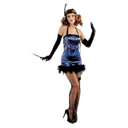 Deluxe Delicious   Blue Roaring 20s Flapper All That Jazz Costume - 20s Costume
