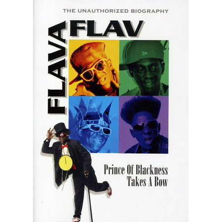 Flava Flav - Prince of Blackness Takes a Bow: Unauthorized (DVD)