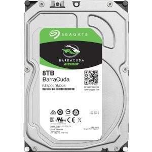 "Seagate Barracuda ST8000DM004 8TB 3.5"" SATA 5400rpm Internal Hard Drive"