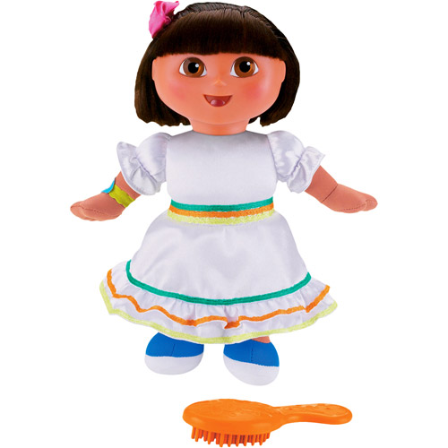 Fisher Price On the Go Birthday Fiesta Dora Doll by