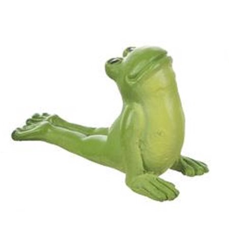 Downward Facing Dog Frog Figurine - Yoga Frogs Collection by Ganz](Toga Dog)