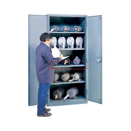 Lyon workspace products extra shelves for 21 39 39 deep for Additional shelves for kitchen cabinets