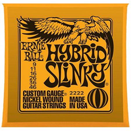 Hybrid Slinky Nickel Wound Electric Guitar Strings - Nickel Hybrid Slinky Electric Guitar