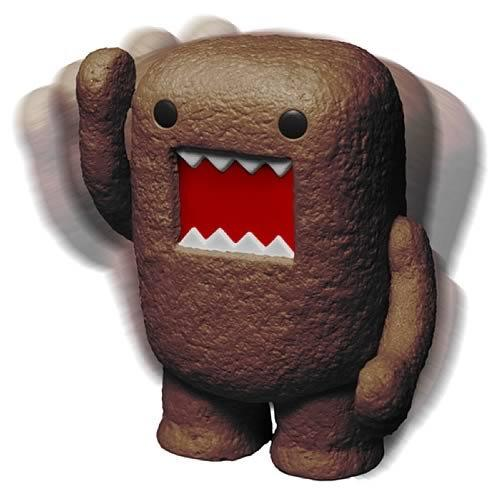 "Domo 6"" Brown Bobblehead"