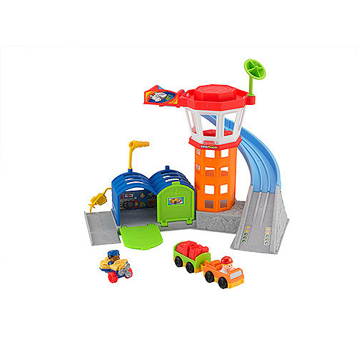 Fisher Price Little People Lp Wheelies Playset - Airport