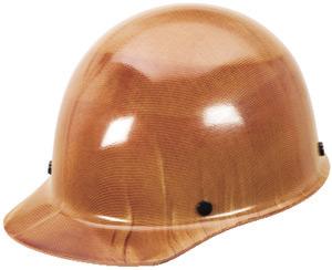 MSA Skullgard Protective Hard Hats, Ratchet Suspension, Size 6 1 2 8, Natural Tan by MSA (Mine Safety Appliances Co)