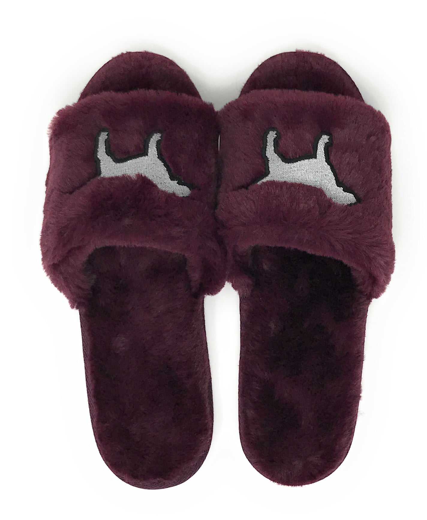 Fuzzy Slippers Black Orchid