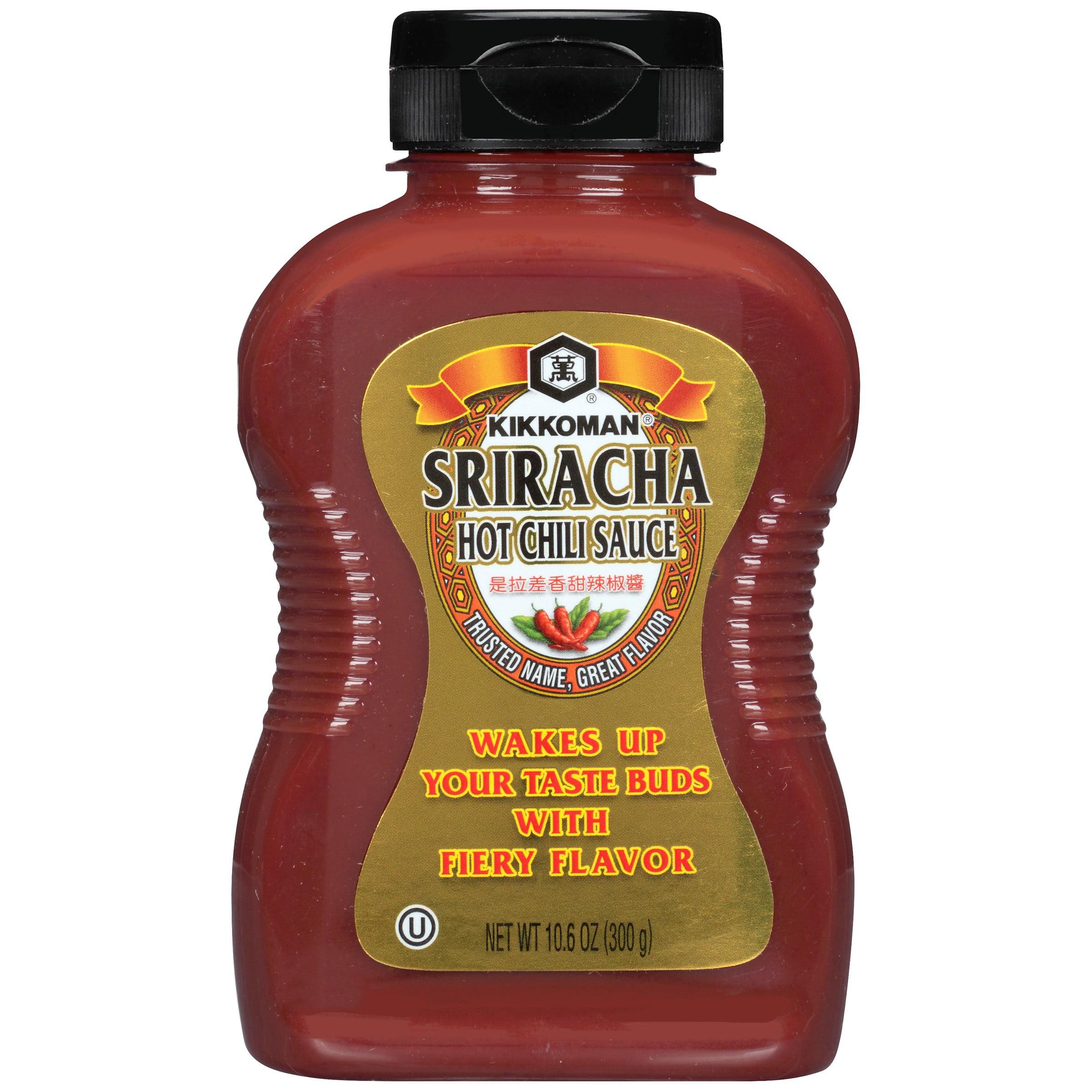 Kikkoman Sriracha Hot Chili Sauce, 10.6 Oz
