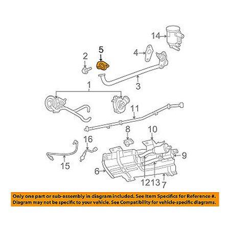 CHRYSLER OEM 04-05 Pacifica 3.5L-V6 Emission System-Egr Tube Plug 6034826 Chrysler Pacifica Spark Plug