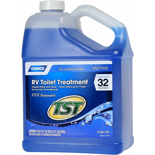 Camco TST Blue Enzyme Toilet Chemical, 1 gal