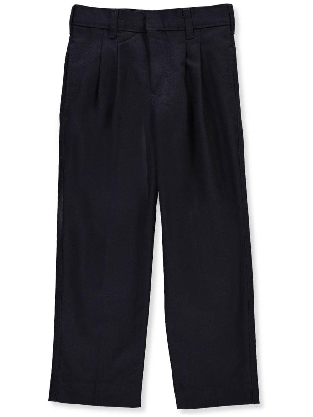A+ Boys' Pleated Uniform Pants