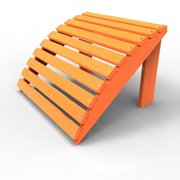 Footstool by Malibu Outdoor, Tangerine