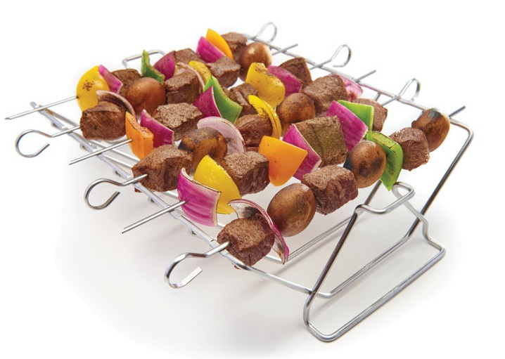 Click here to buy GrillMark 41617 Grill Rib Roast Rack, Stainless Steel by Ace Trading - Onward.