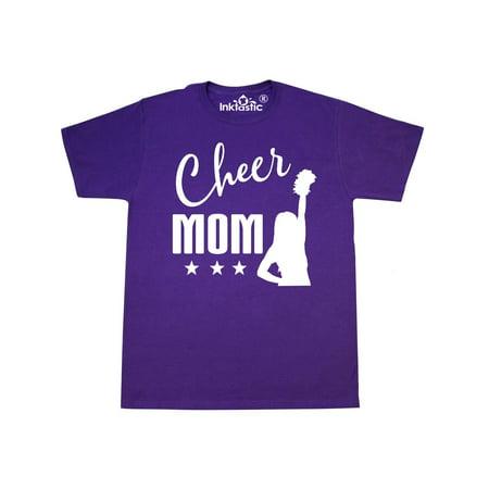 d92c2adda2ea Inktastic - Cheer Mom Gift Cheerleading T-Shirt - Walmart.com