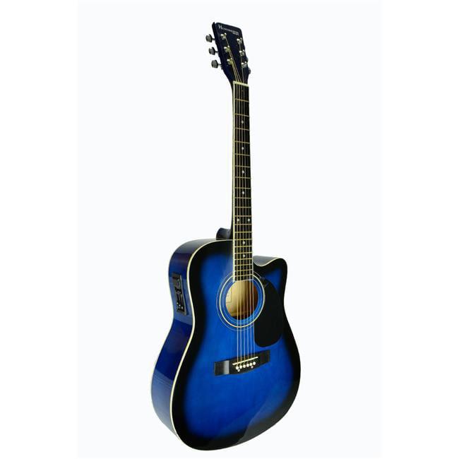 Bridgecraft USA GA415C-BLS Huntington Dreadnought Cutaway Acoustic-Electric Guitar,... by Guidecraft