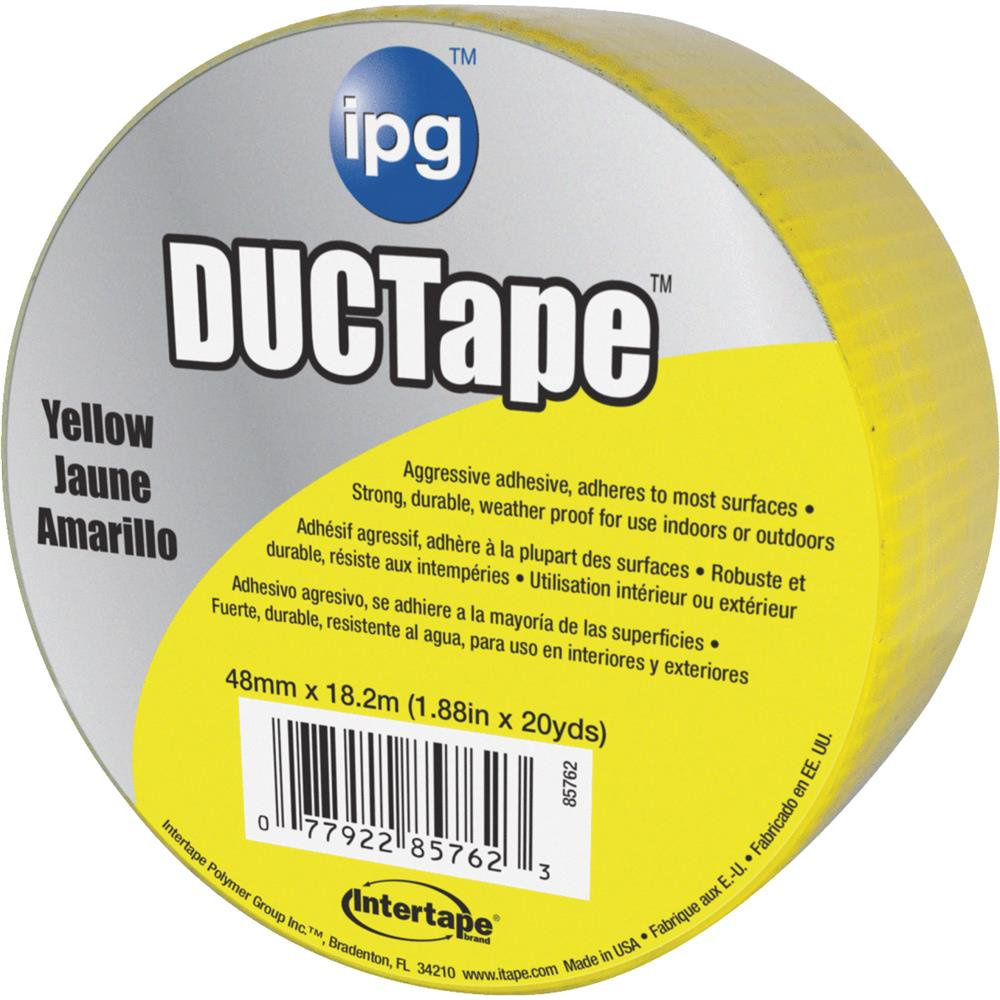 Intertape Polymer Group 20yds Yellow Duct Tape 6720YEL