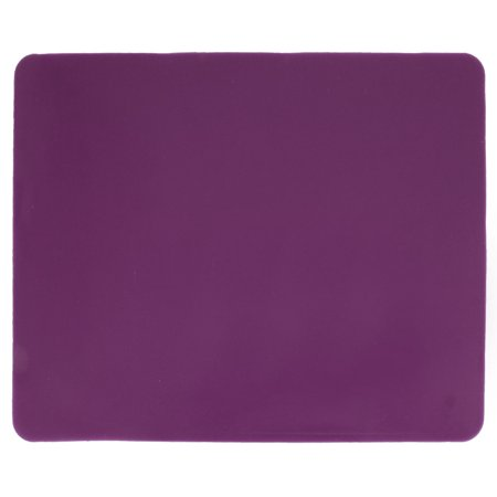 Unique Bargains Spare Parts Purple Rectangle Silicone Notebook PC Mouse Pad Mat 8.7  x 6.7 Notebook Mouse Pad Mat