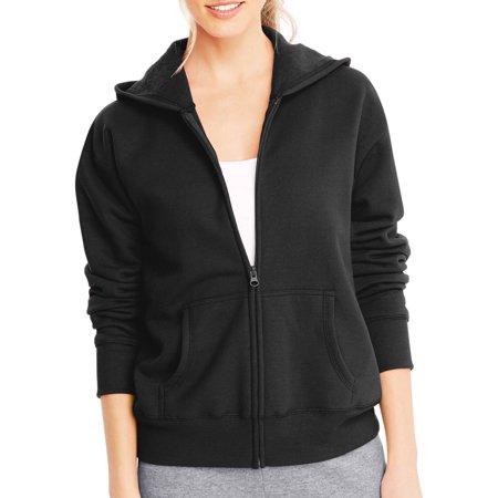 Hanes Womens Fleece Zip Hood Jacket