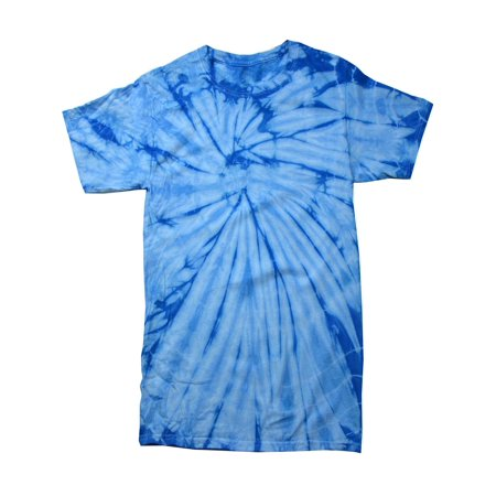 Tie Dye T-shirts Spider Multi Colors Kids Girls Boys XS- L 100% Cotton