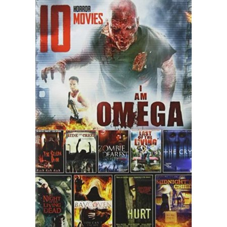10 Horror Movies: Hurt / The Cry/Ray Coven / Midnight's Child / The Cellar Door / Hide and Creep / Zombie Dearest / Last Of The Living / Night of the Living Dead / I am Omega - Top 10 Movies For Halloween
