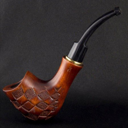 6.1'' Carved wooden smoking pipe. Best smoking pipes. WORLDWIDE
