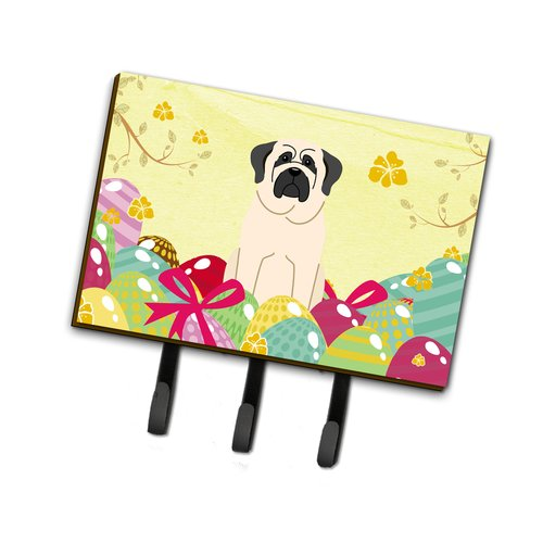 The Holiday Aisle Easter Eggs Mastiff Leash or Key Holder