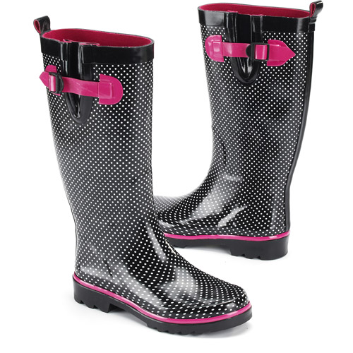 Amazing Women39s Quilted Rain Riding Boots  Walmartcom
