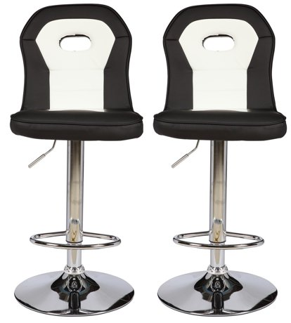 viscologic series java height adjustable swivel 24 to 33 inch bar stool set of 2 stools. Black Bedroom Furniture Sets. Home Design Ideas