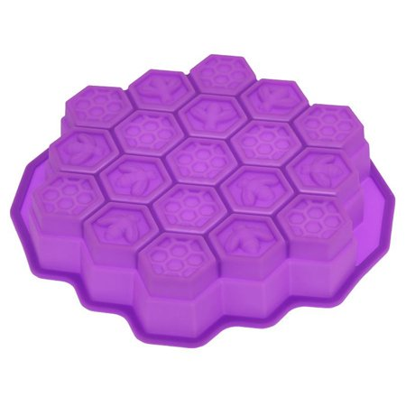 Voomwa 3D Honeycomb Shape Moulds Silicone Mold Cake Mousse For Ice Creams Chocolates Pastry Art Pan Dessert Bakeware Cake Decorating Tools - Shape Of A Honeycomb
