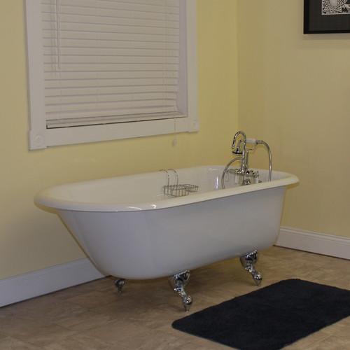Cambridge Plumbing 61u0027u0027 X 31u0027u0027 Clawfoot Bathtub