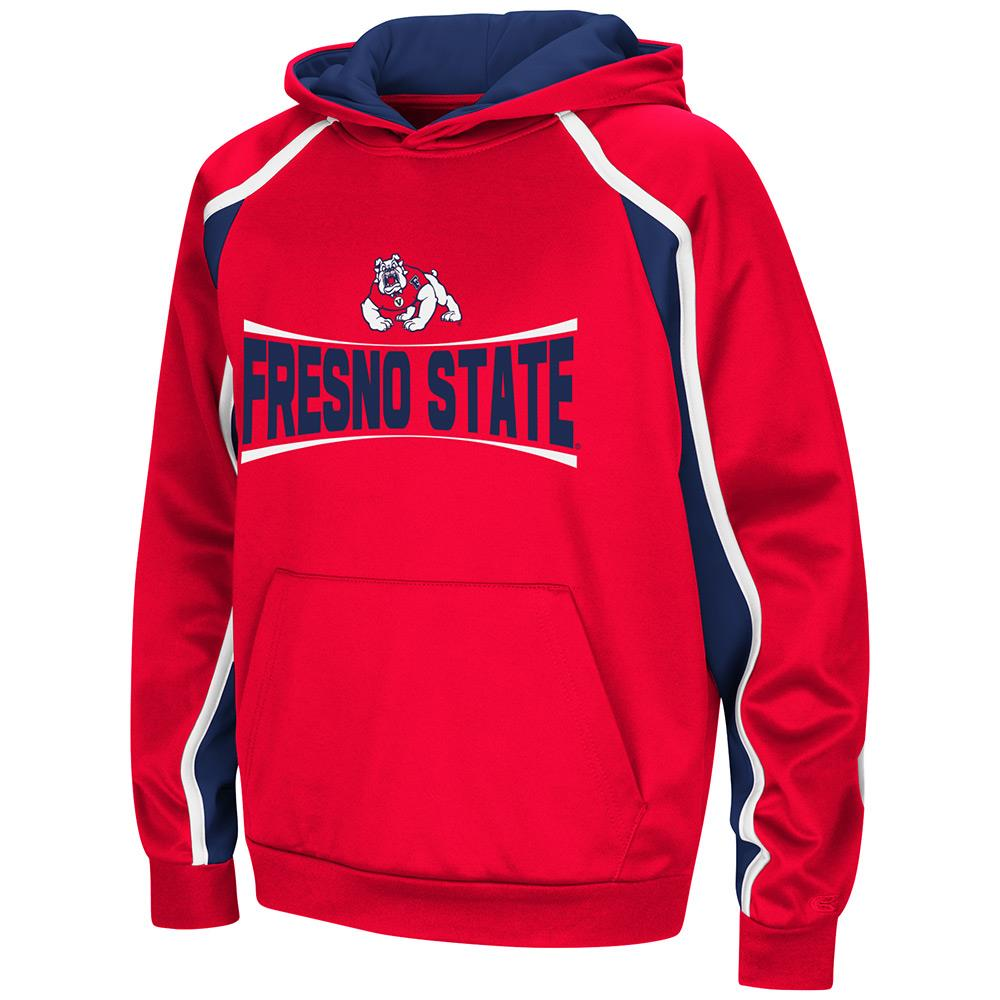 Youth Fresno State Bulldogs Pull-over Hoodie - S