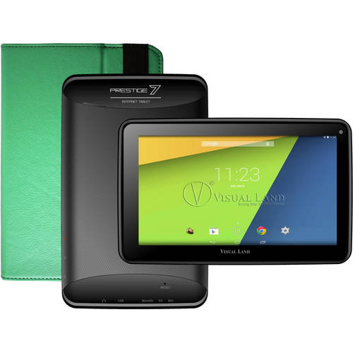 "Visual Land Prestige 7"" Tablet 8GB includes Tablet Case"
