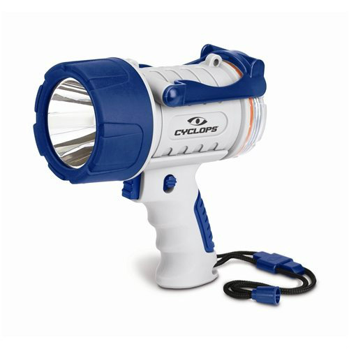 Click here to buy Cyclops 300 Lumen Rechargeable Waterproof Spotlight, Marine by Cyclops.